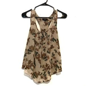 Ambiance Floral Racerback Tank